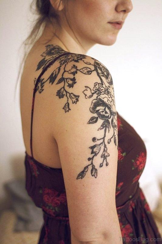 Shoulder Tattoos For Girls