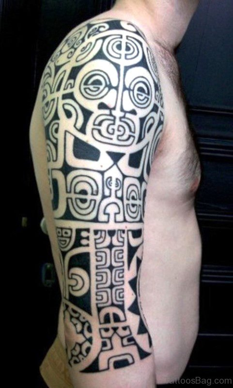 Shoulder Maori Tattoo