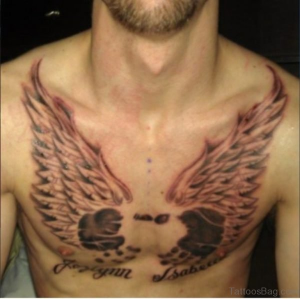 Similar Heart With Wings Tattoo