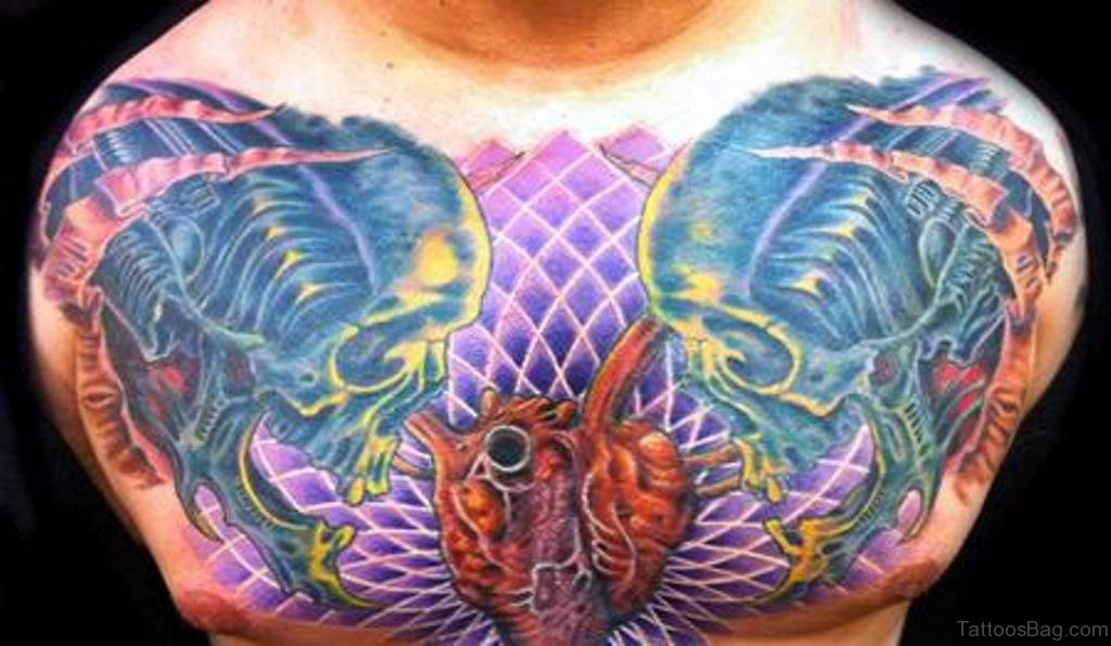 81 Mind Blowing Heart Tattoos On Chest