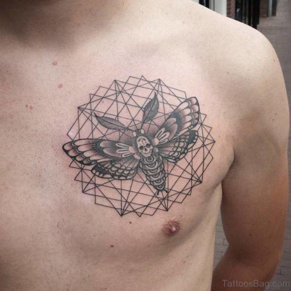 Skull Butterfly Mandala Tattoo