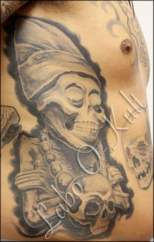 Skull Tattoo design Picture