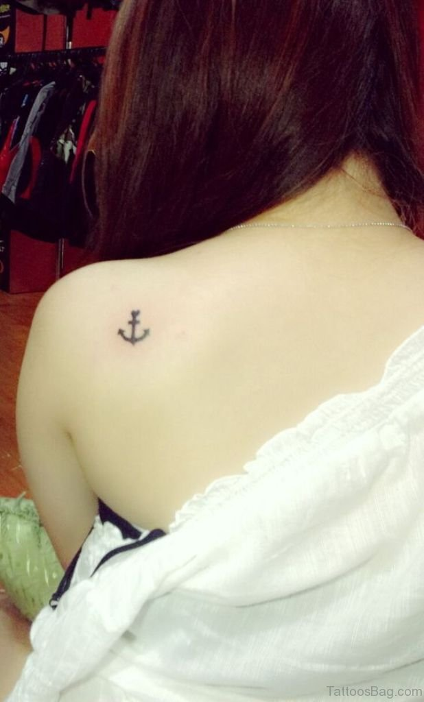 70 Stunning Anchor Tattoos Designs On Shoulder