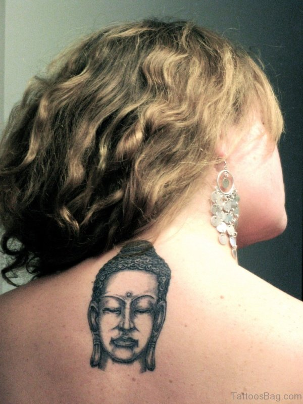 Small Buddha Face On Back