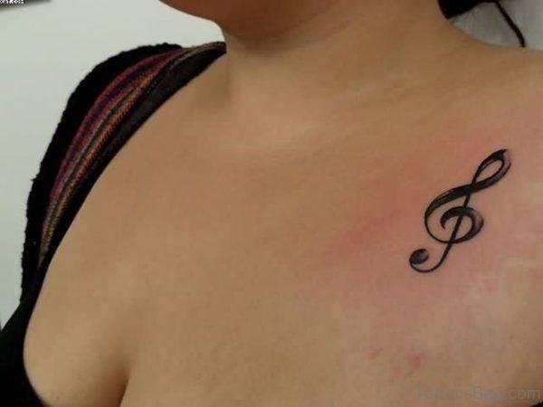 Small Music Tattoo