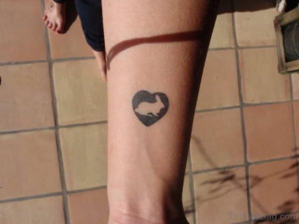 Small Rabbit Tattoo On Wrist