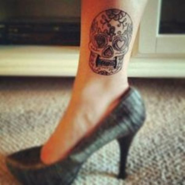 Small Skull Tattoo