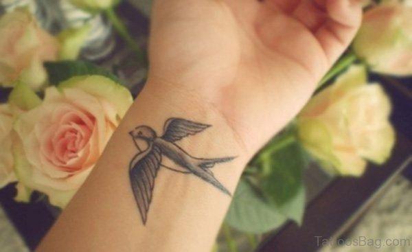 Small Swallow Tattoo