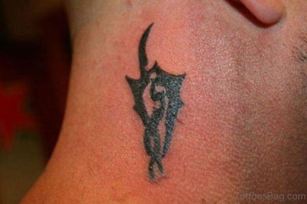 Small Tribal Tattoo Design