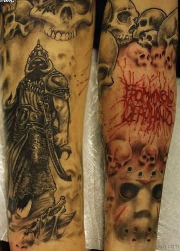 Small Warrior Tattoo