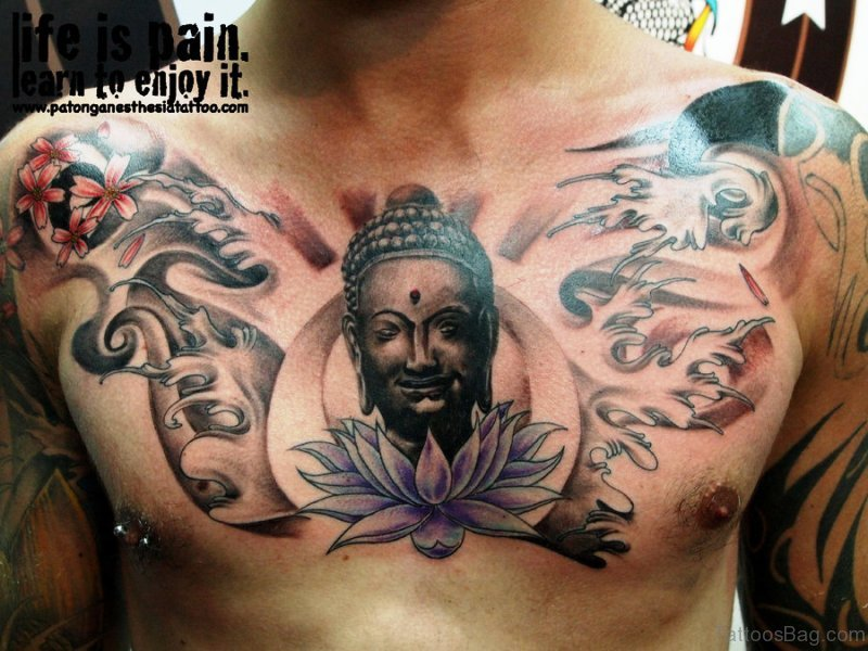 Smiling Buddha Tattoo