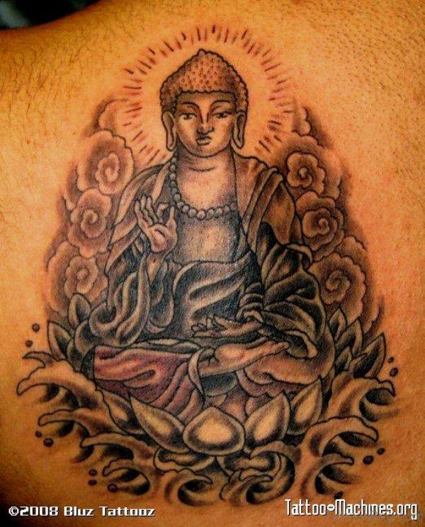 Spectacular Buddha Tattoo Design