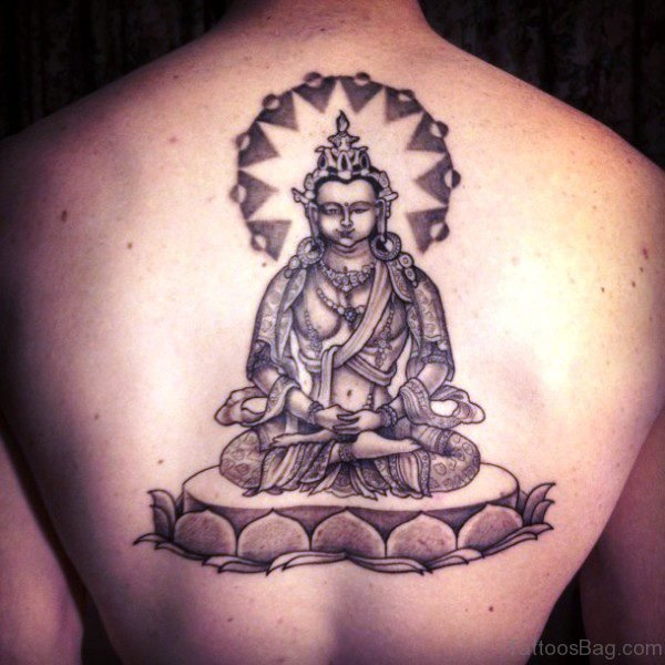 Splendid Buddha Tattoo Design