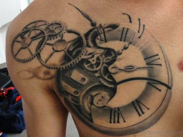 Steampunk Styled Pocket Clock