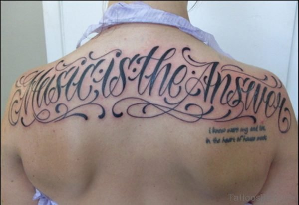 Stunning Ambigram Tattoo
