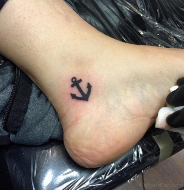 Stunning Anchor Tattoo