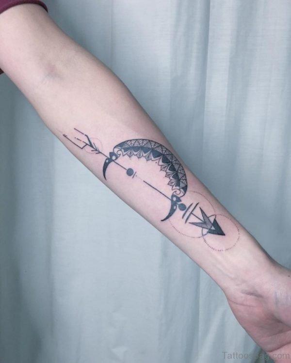 Stunning Arrow Tattoo