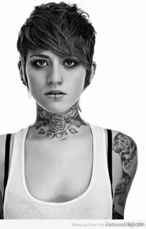Stunning Black And Grey Tattoo Design