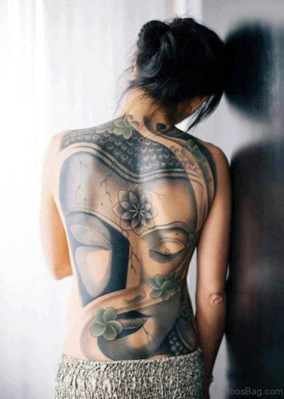 Stunning Buddha Tattoo
