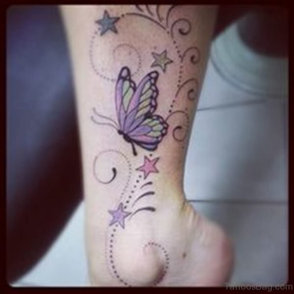 Stunning Butterfly Tattoo