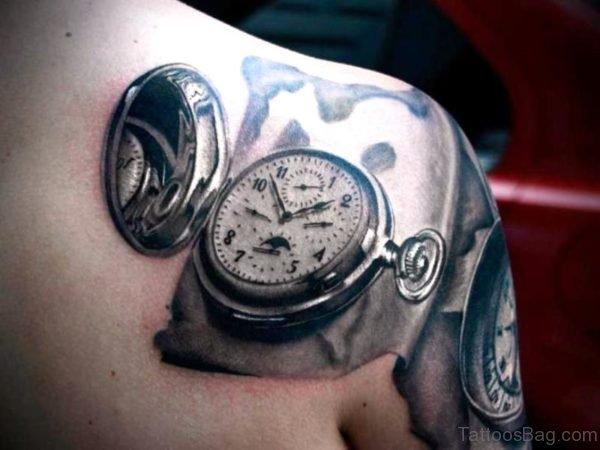 Stunning Clock Tattoo