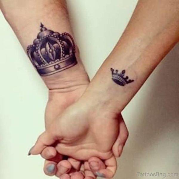 Stunning Crown Tattoo
