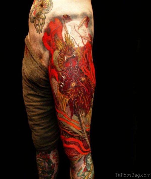 Stunning Dragon Tattoo
