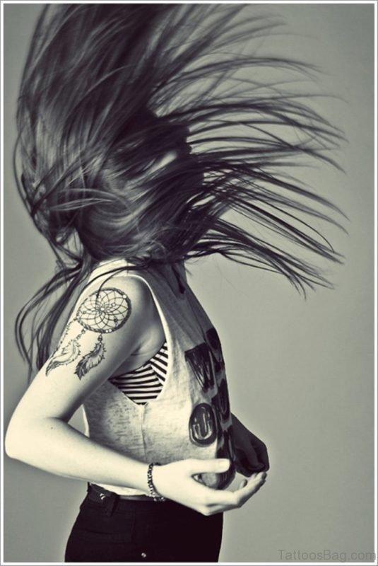 Stunning Dreamcatcher Tattoo