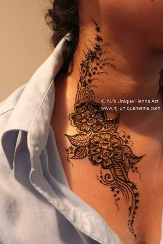 Stunning Henna Tattoo Design