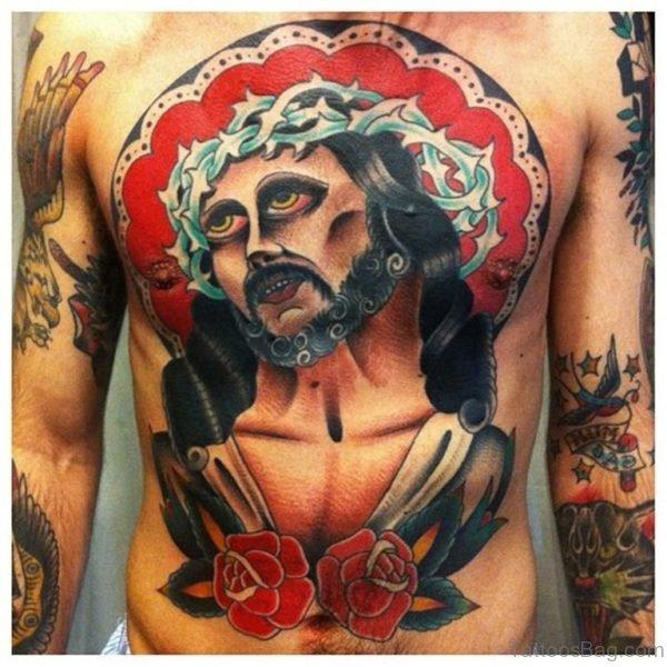 Stunning Jesus Tattoo