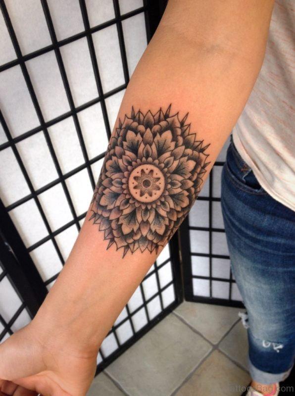 Stunning Mandala Tattoo