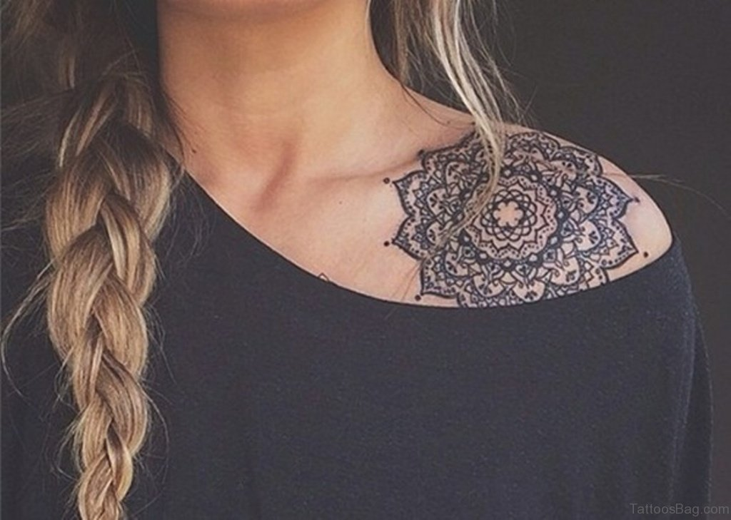 75 trendy mandala tattoos for shoulder
