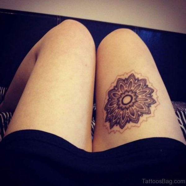 Stunning Mandala Tattoo Design