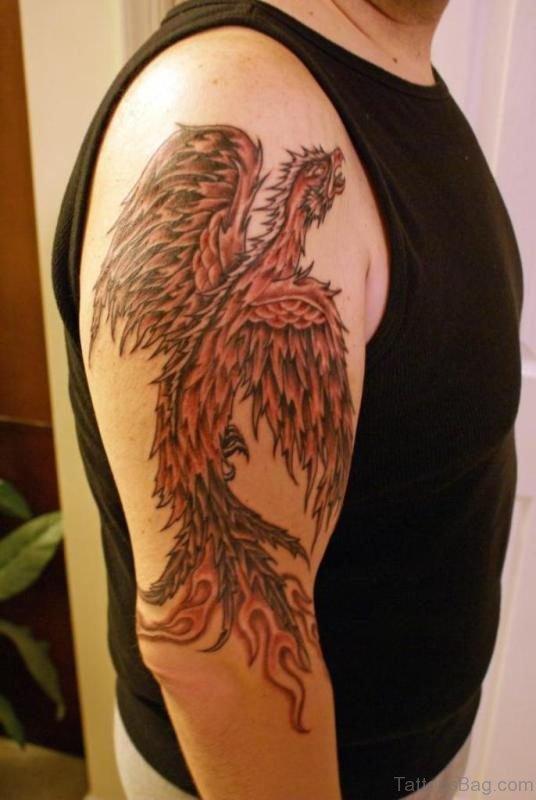Stunning Phoenix Tattoo
