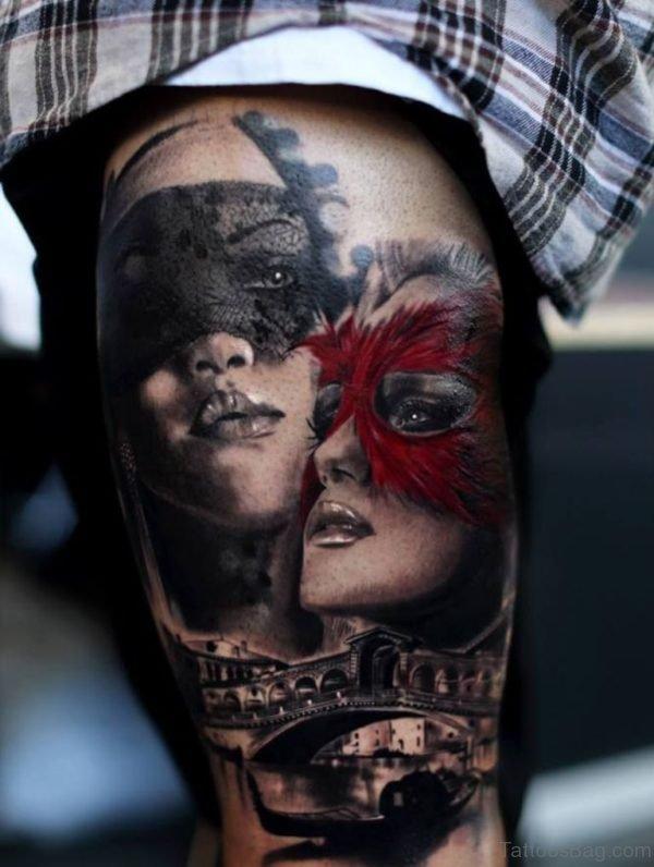 Stunning Portrait Tattoo