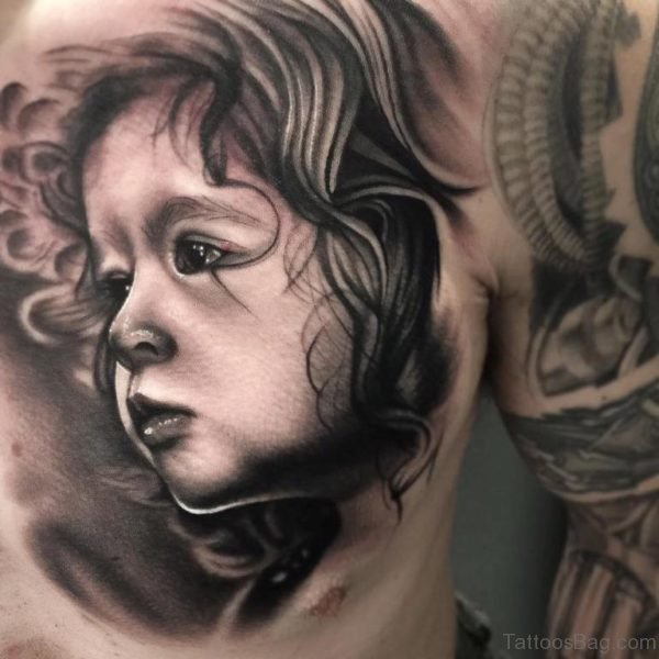 Stunning Portrait Tattoo