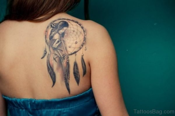 Stunning Shoulder Blade Designer Tattoo