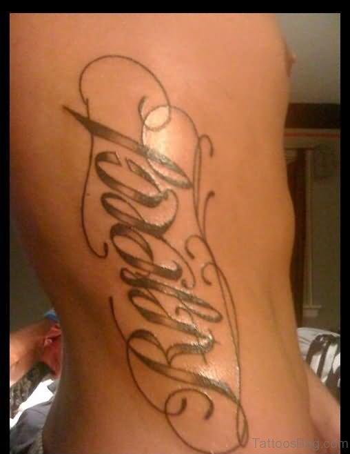 Stylish Ambigram Tattoo Design