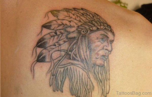 Stylish American Native Tattoo