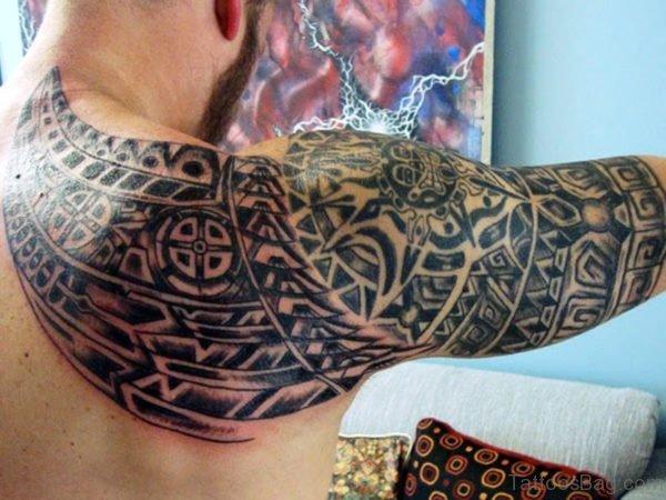 Stylish Aztec Tattoo Design