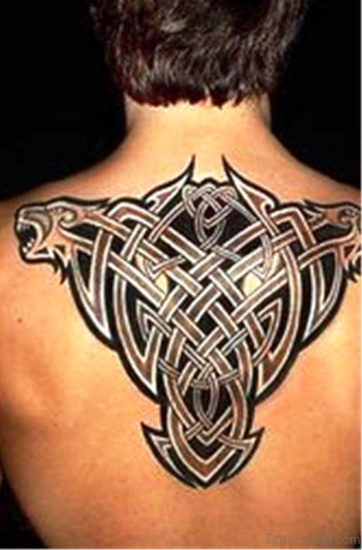 Stylish Celtic Tattoo