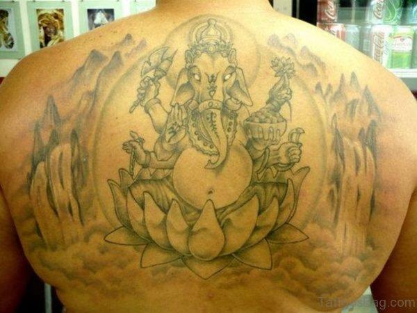 Stylish Ganesha Tattoo