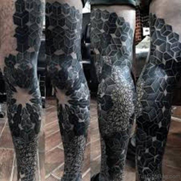Stylish Geometric Tattoo