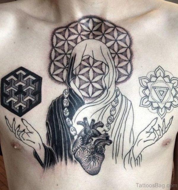 Stylish Mandala Tattoo