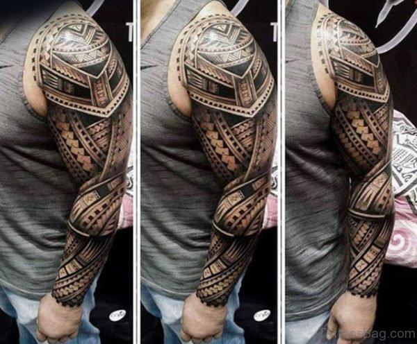 Stylish Maori Tattoo