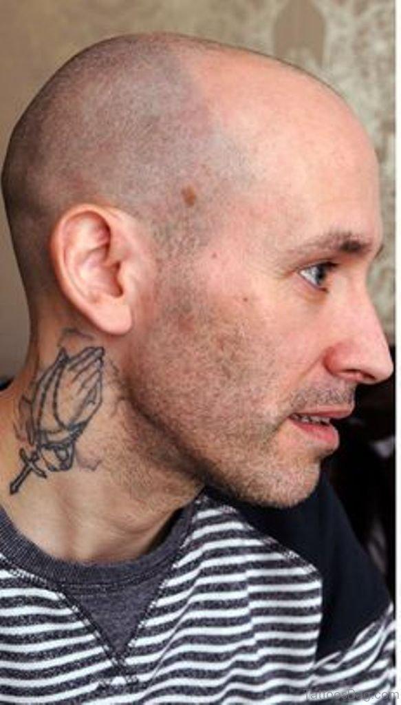 f8de9e132da73 29 Nice Praying Hands Tattoos For Neck