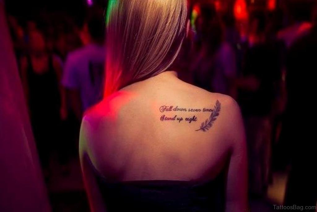 fall down seven stand up eight tattoo