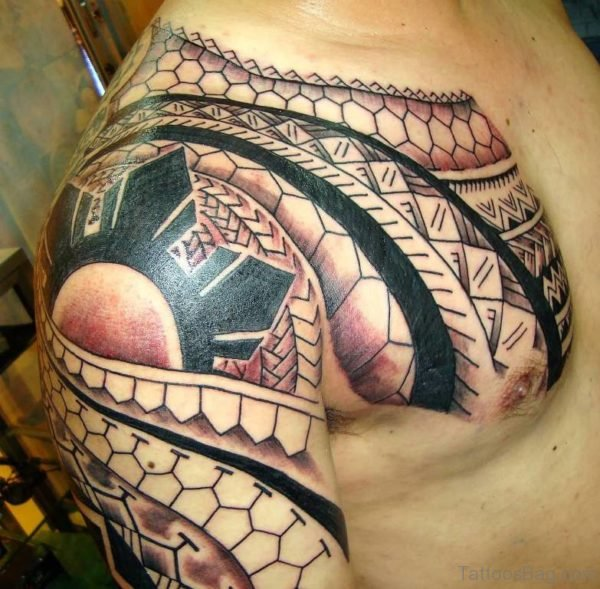 Stylish Tribal Tattoo