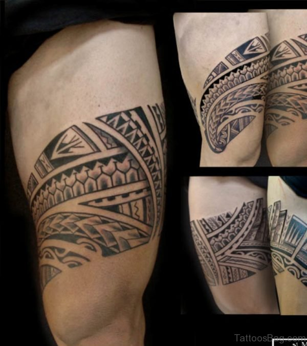 Stylish Tribal Tattoo Design