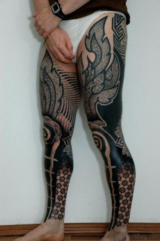 Stylish Tribal Tattoo Design Image